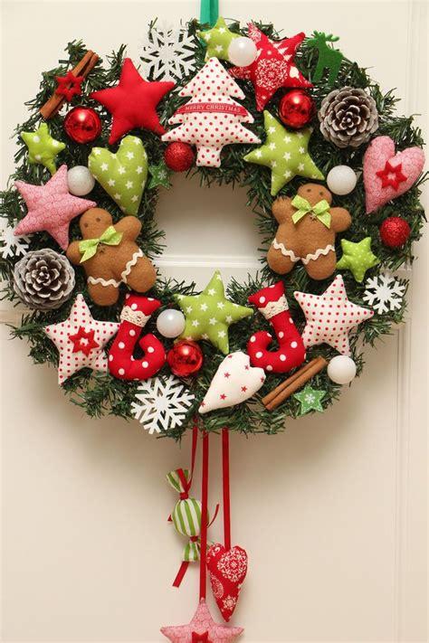 britesta  weihnachtskraenze  warmweisse leds timer