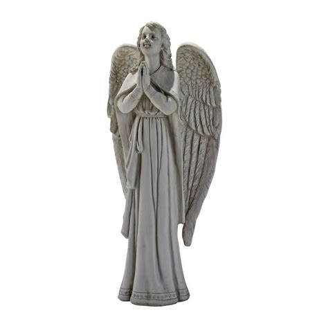 lowes garden statues shop design toscano 33 in h guidance praying