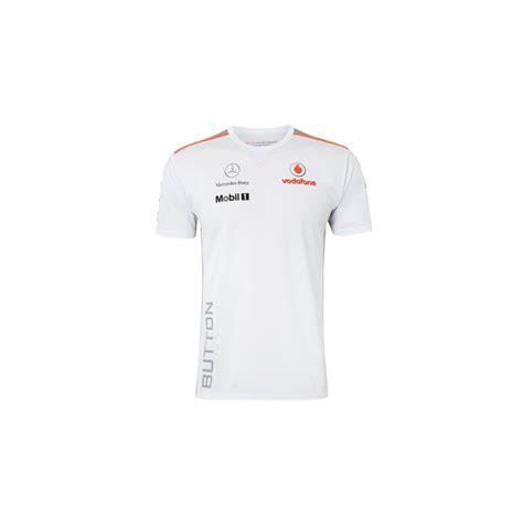 vodafone mclaren mercedes  team  shirt jenson button