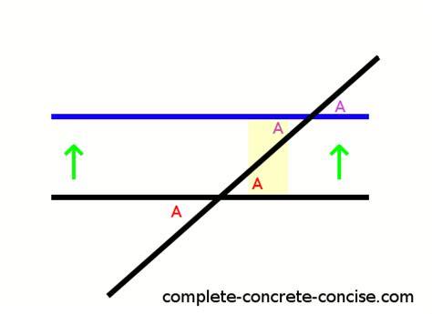 alternate interior angles proving alternate interior angles are congruent the same