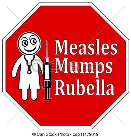 Measles mumps rubella shot. Reminder for important ...