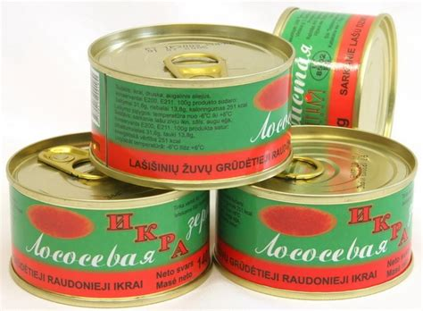krasnaya ikra     russian delicacies salmon caviar
