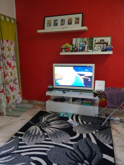hiasan ruang menonton tv desainrumahidcom
