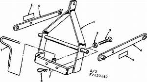 3 Pt  Hitch Adapter Diagram  U0026 Parts List For Model