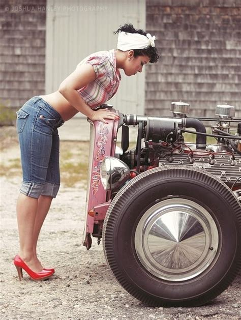 546 best images about girls and hot rods and rat rods on