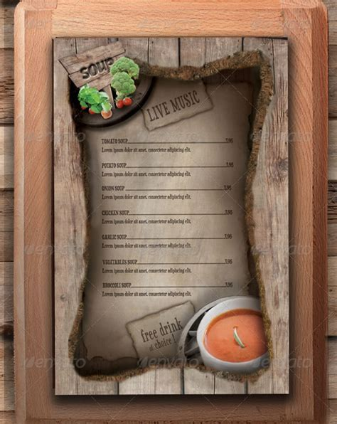 mouth watering restaurant menu designs entheosweb