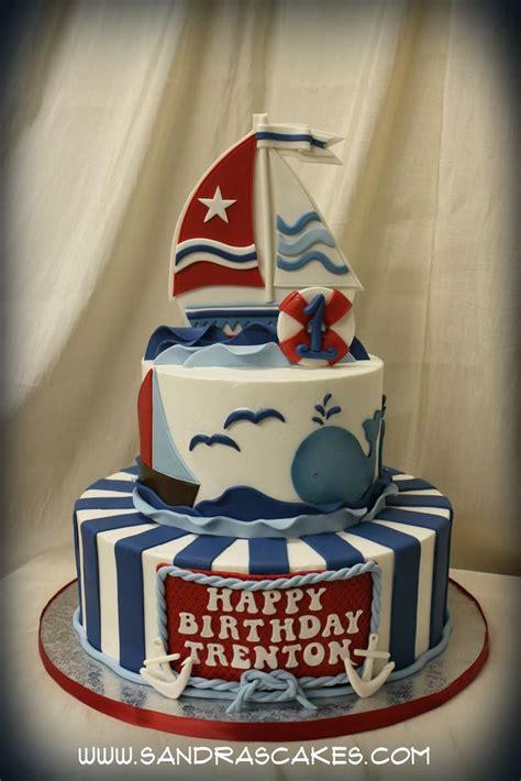 nautical graduation cakes posted  sandras cakes