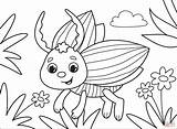 Silverfish Realistic sketch template
