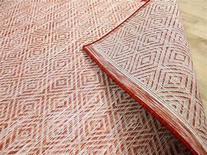 Outdoor Teppich : in outdoor teppich beidseitig flachgewebe hampton terrakotta meliert garten outdoor teppiche ~ Buech-reservation.com Haus und Dekorationen