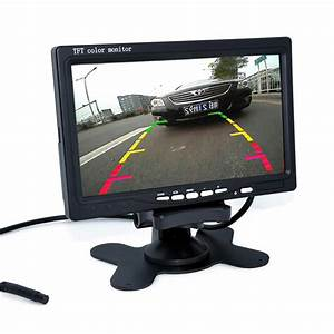 7 U0026quot  Tft Lcd Color Hd Mirror Monitor For Car Reverse Rear