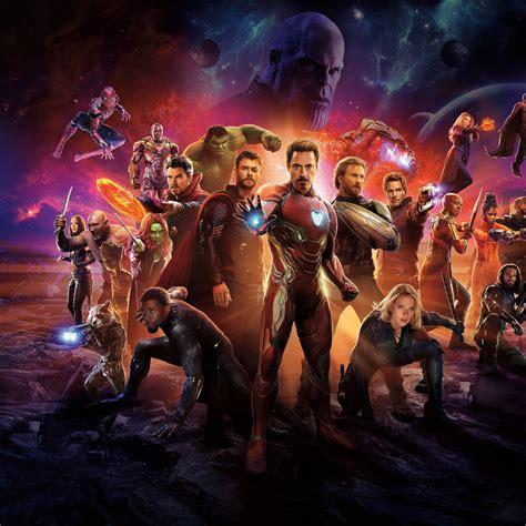 wallpaper avengers infinity war iron man spider man