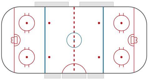 hockey rinks vector stencils library