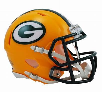Helmet Packers Bay Riddell Speed Mini