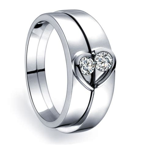 Unique Heart Shape Couples Matching Wedding Band Rings On. Dia Wedding Rings. Modern Mother Rings. Kay Wedding Rings. Love Name Engagement Rings. Estate Style Engagement Rings. Emerald Stone Engagement Rings. Solitaire Ring Engagement Rings. Band Engagement Rings