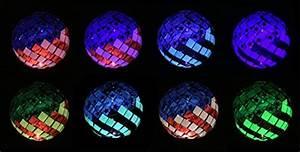Solar Garden Lights Made In Usa Solar Usa Flag Ball Led Lights Solar Mosaic Americana