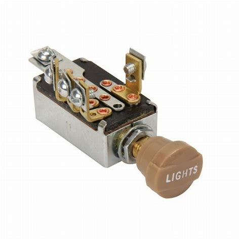 Mack Truck Dimmer Switch Wiring by Headlight Dimmer Switch 4 Position With Knob