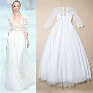 s embroidered lace and gauze wedding dress meek wedding With gauze wedding dress