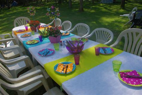 table de cuisine deco table pour barbecue