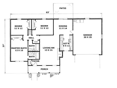 basement house plans ranch house floor plans with walkout basement house plan