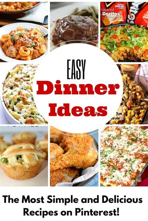 easy recipes for dinner crazy easy dinner ideas princess pinky girl