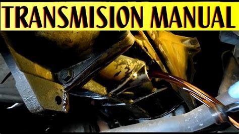 como cambiar aceite de transmision manual standar