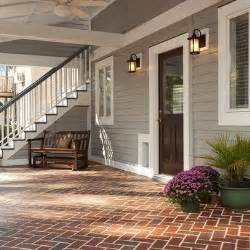 Brick Back Porch Designs