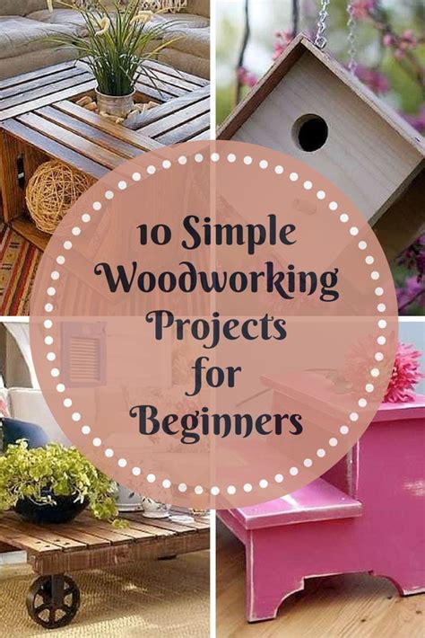 ideas  easy woodworking projects  pinterest