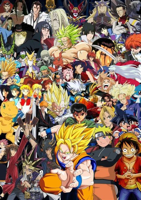 All Anime In One Wallpaper - si vous 233 tiez un personnage de vous serrez le quelle