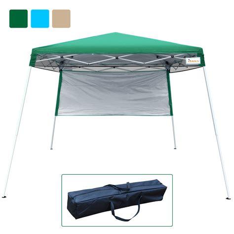 quictent  feet ez pop  canopy tent instant expedition canopy  waterproof green