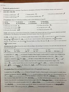 Worksheet  Spanish 2 Worksheet Answers  Worksheet Fun