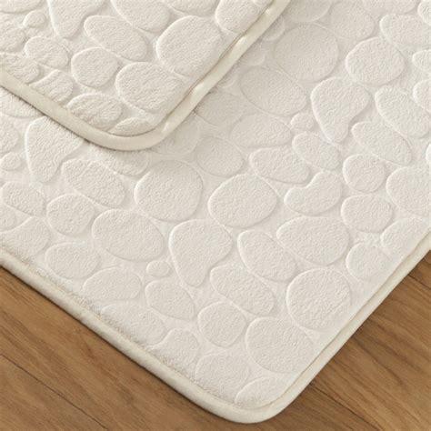 tapis de bain galet tapis bain galet beige tradition des vosges