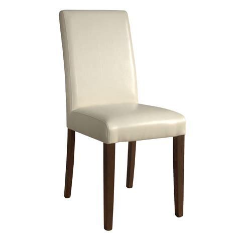 bolero faux leather dining chairs pack of 2 gh444