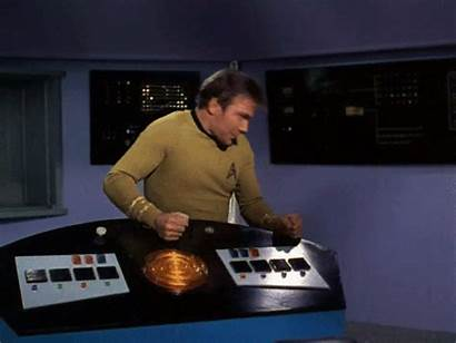 Kirk Captain Gifs Gamestop Trek Animated Headbanging