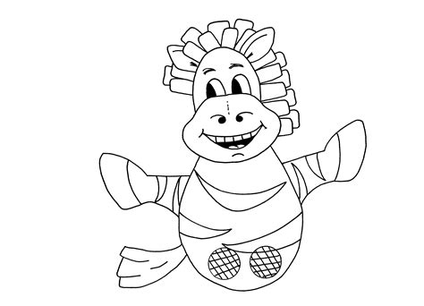Download Pdf Zebra Colouring Sheet