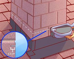 How to Flash a Chimney: 6 Steps (with Pictures) - wikiHow  Flashing