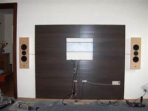 Laminat An Die Wand : tv wand verkleiden bestseller shop f r m bel und einrichtungen ~ Frokenaadalensverden.com Haus und Dekorationen
