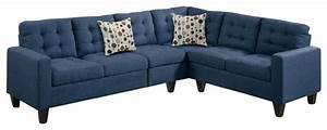 4 piece modular sectional sofa navy blue contemporary With 4 piece modular sectional sofa