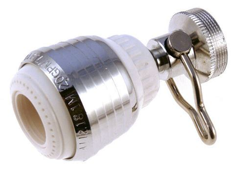 Kitchen Faucet Aerator On by Kitchen Faucet On Swivel Spray Aerator 2 0