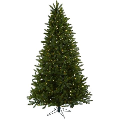 7 5 foot artificial rembrandt christmas tree clear lights