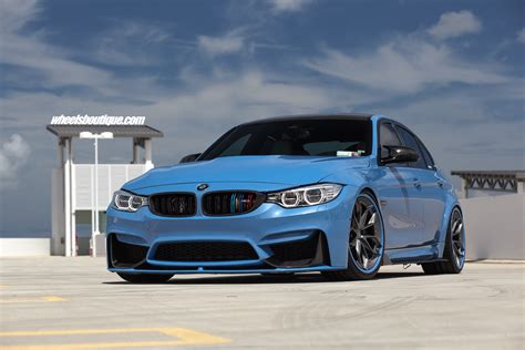 boutique bmw motorsport wheels boutique add more flavor to this f80 bmw m3 in yas