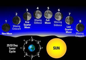 Understanding The Phases Of The Moon - Farmers' Almanac