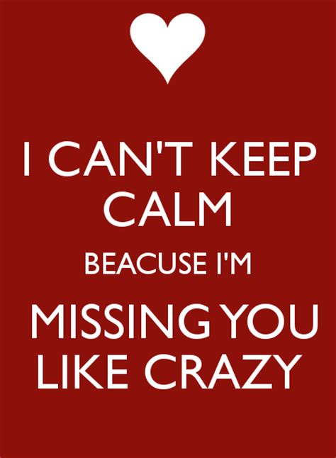 I Missed You Like Crazy Quotes