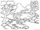 Coloring Canyon Grand Coloring4free Nature Sheet Eagle River sketch template