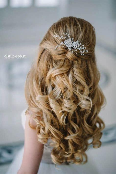 hair ideas for wedding 20 awesome half up half wedding hairstyle ideas