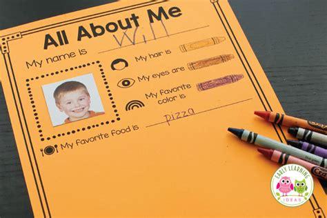 preschool activity early learning ideas