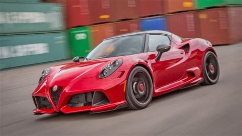 Alfa Romeo Car : The Alfa 4c Has Been Modified. Good Tune, Or Bad Tune