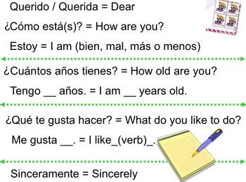 spanish  letter format  ashley konieczko tpt