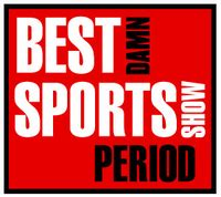 Sports Show Logo the best damn sports show period the free