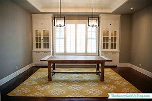 Dining room decor update (bench, chairs, pillows) - The
