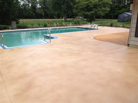 Resurface Pool Deck Diy by Sted Concrete Pool Deck Quotes